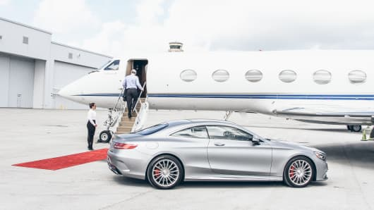 JetSmarter app allows passengers to book private jets on demand